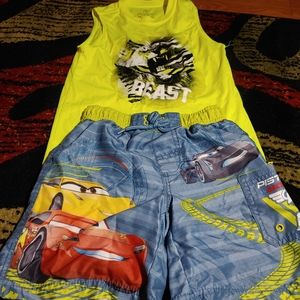 Cars boys 2pc outfit